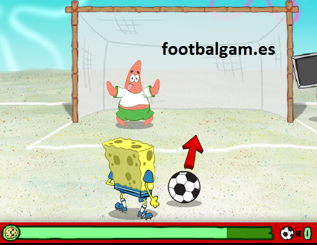 Spongebob Soccer Shootout