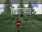 Santa&#8217;s Footy Challenge